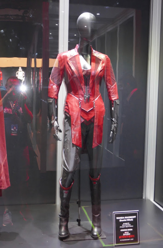 Scarlet Witch Avengers Age of Ultron movie costume