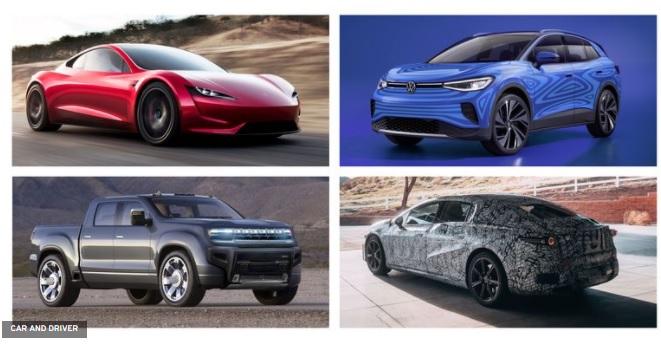 Mobil Listrik Terbaru 2021 2022