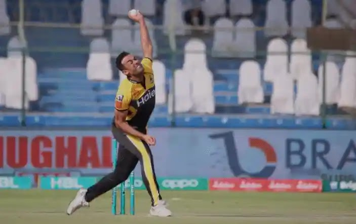 Wahab Riaz Breaks his record with T20 crickets for the most expensive spell