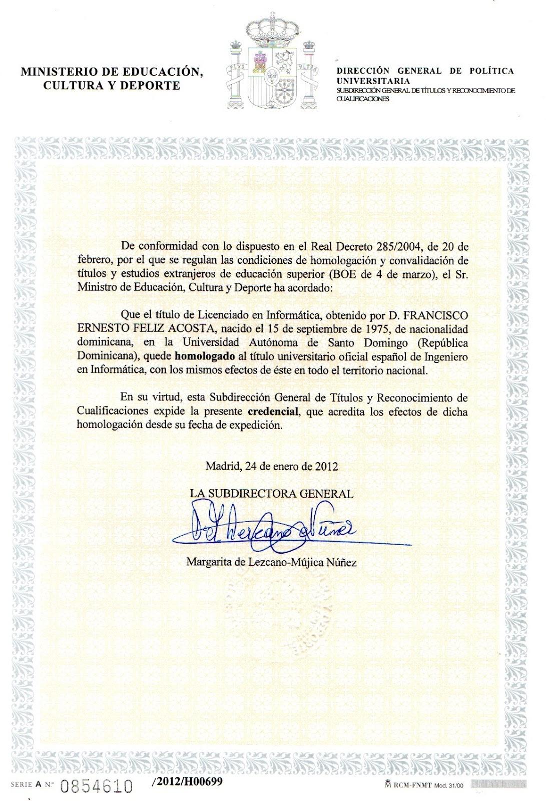 Titulos Y Diplomas De Los Cursos