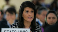Nikki Haley, US ambassador to the UN, sent a letter to signal US plans to leave the Paris climate pact (Picture Credit: Flickr/US Mission Geneva) Click to Enlarge.