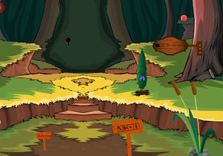 Play ZoooGames Golden Forest Escape