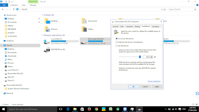 how to use pendrive as ram in windows technogyyan.tech