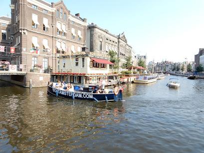 アムステルダムの運河