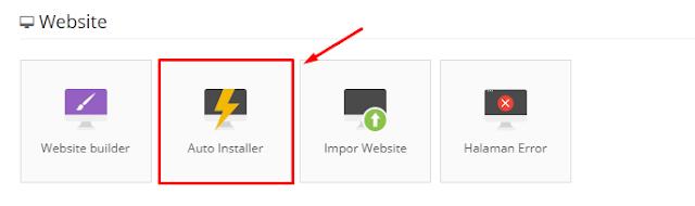 Auto Installer Wordpress di Hostinger.co.id