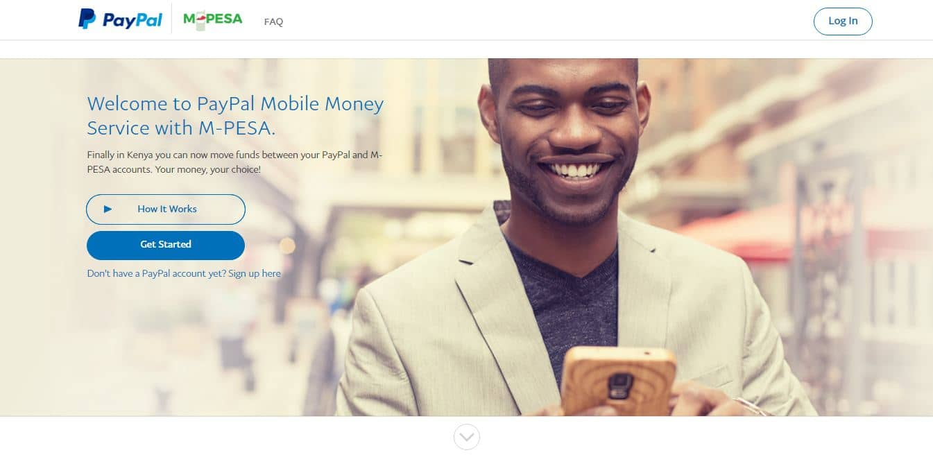 how to link mpesa with paypal