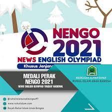 Siswi Madrasah Tsnawiyah Negri 1 Tasikmalaya Meraih Medali Perak Di NENGO 2021