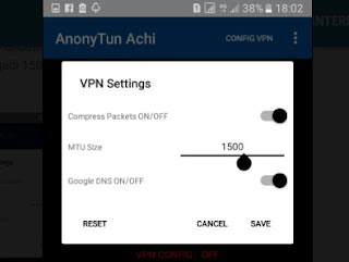 setting Anytun VPN