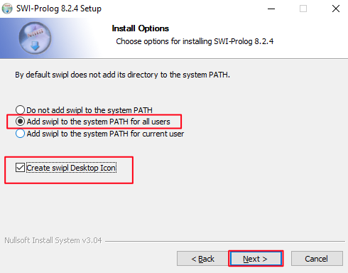 SWI-Prolog download and installation tutorial for Windows 10