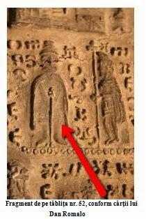 Fragment tablita 52 de la Sinaia