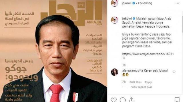 Majalah Terkenal Arab Saudi Mengupas Habis Sosok Jokowi, Presiden Terpilih Indonesia