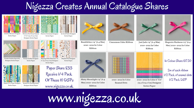 Nigezza Creates New Stampin' Up! Catalogue Paper Share