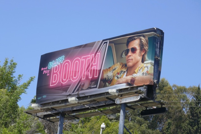 Cliff Booth Once Upon a Time in Hollywood billboard