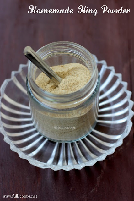 Homemade HIng Powder