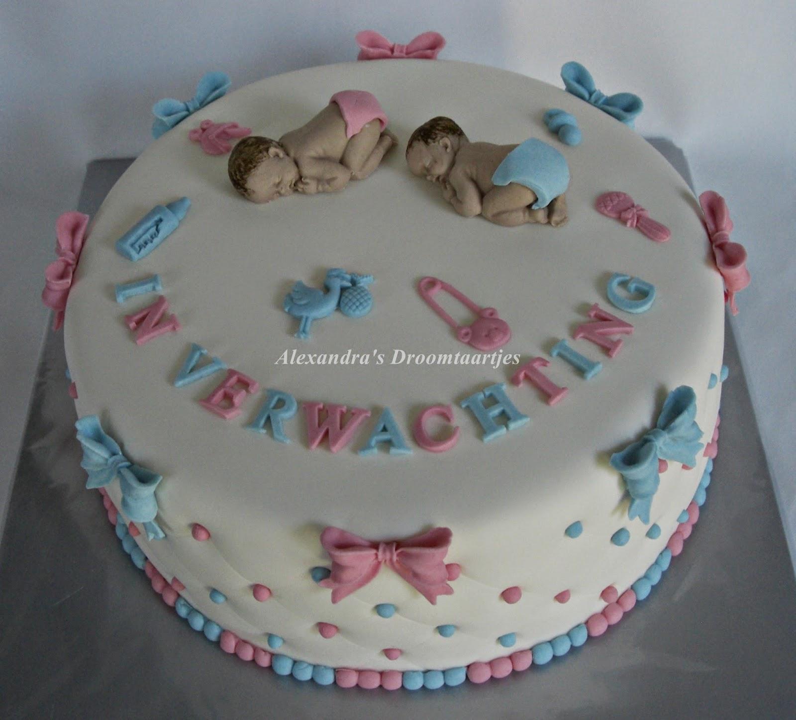 in verwachting taart In verwachting taart / gender cake | Alexandra's droomtaartjes in verwachting taart