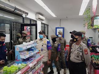 PPKM level IV, Polres Pelabuhan Makassar bersama Tim Gabungan lakukan Patroli Malam