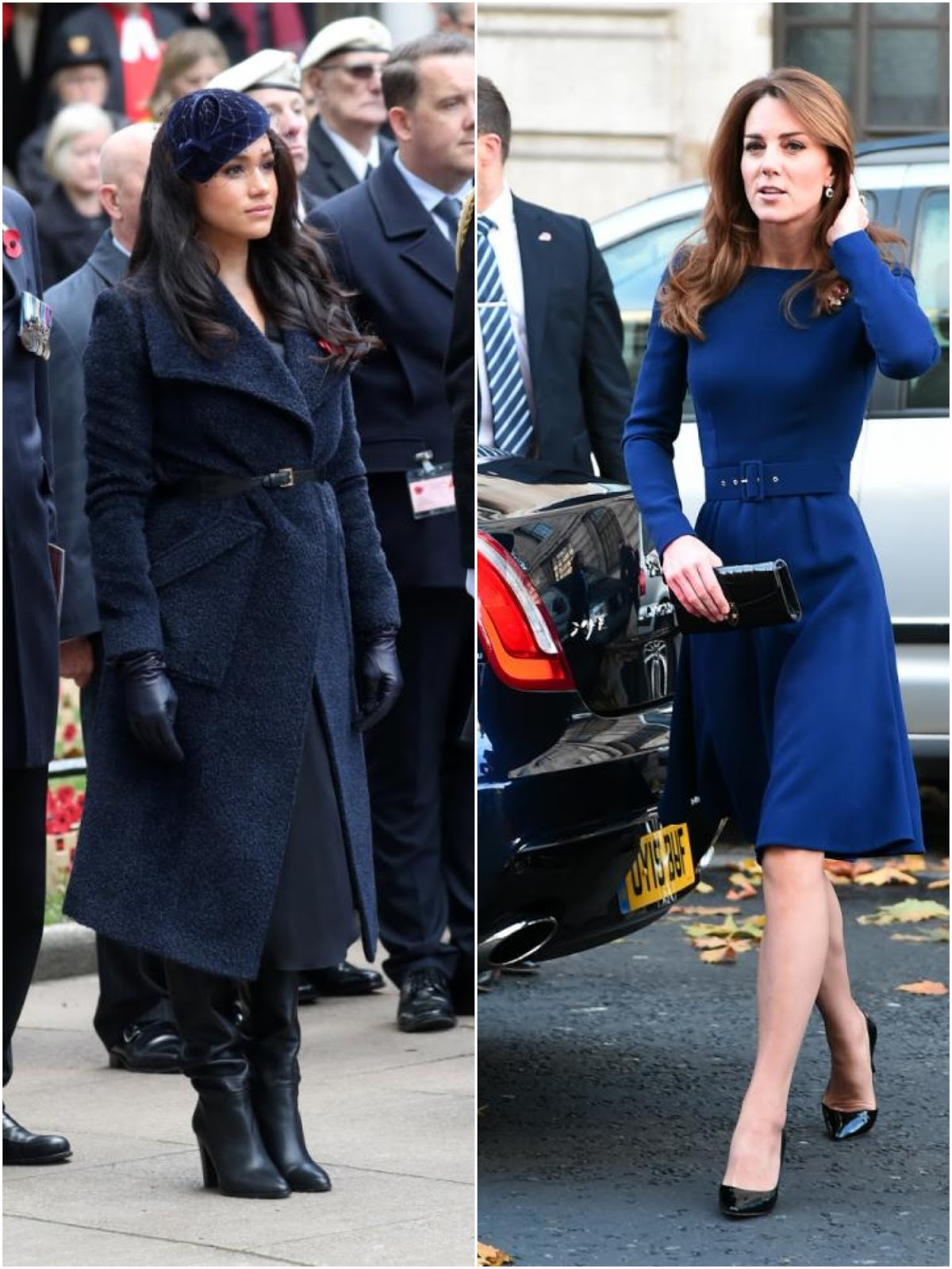 Meghan Markle and Duchess Kate's Best look of the year