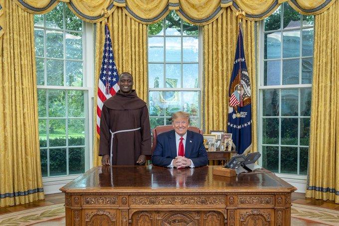World's best teacher meets Trump in White House