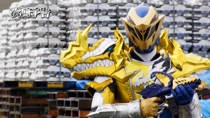 Spoiler Kishiryu Sentai Ryusoulger Episode 15, Kebangkitan Kishiryu MosaRex