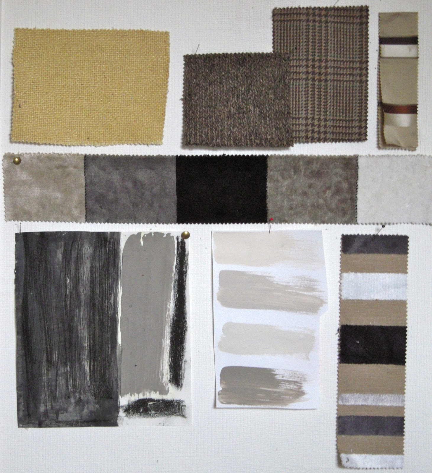 Gray Taupe And White Bedroom Curatins: Light Color Design: Brown, Gray, Taupe, And A Little Gold