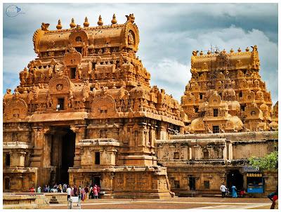 Entrance Gopurams