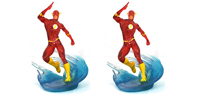 "San Diego Comic-Con SDCC Exclusive ""Speed Force"" The Flash DC Gallery Statue by Diamond Select Toys"