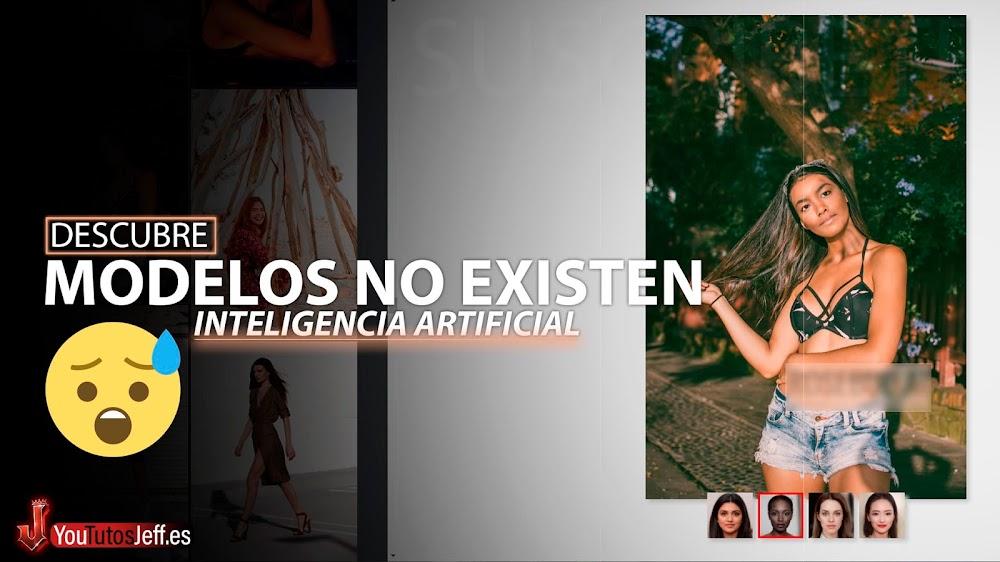 Modelos que No Existen😨Imágenes Gratis Creadas por IA