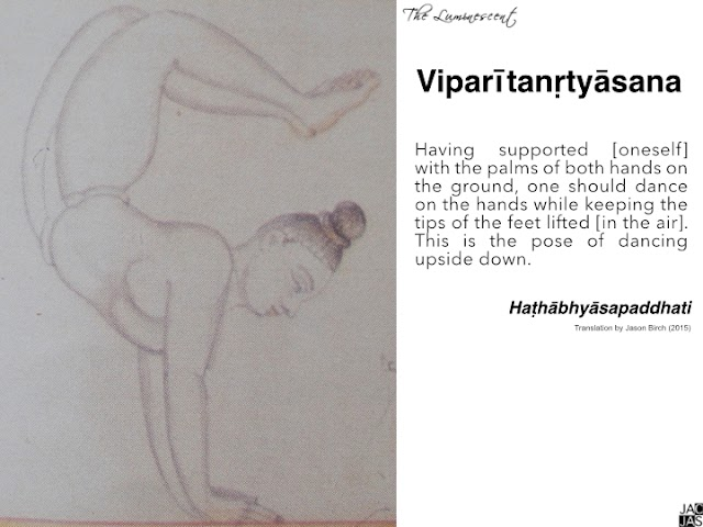 Inverting the Body: An evolution from Mudrā to Āsana