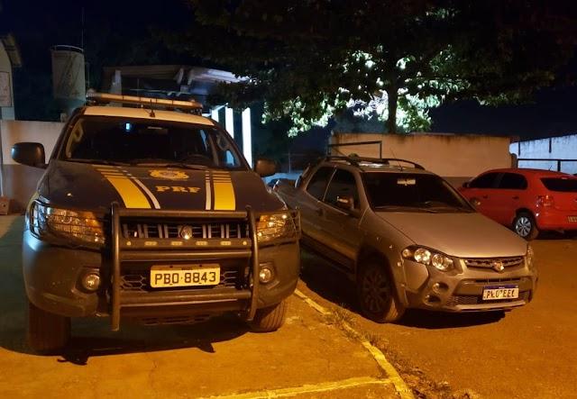 Carro roubado em BH é clonado e recuperado na BR 070