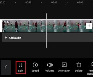 how to cut video in capcut
