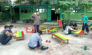 Pendekar PSHT Bendo Ikut Persiapkan Masuk Sekolah Pertama