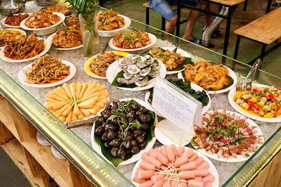 Thực đơn buffet sinh nhật tại nhà hàng
