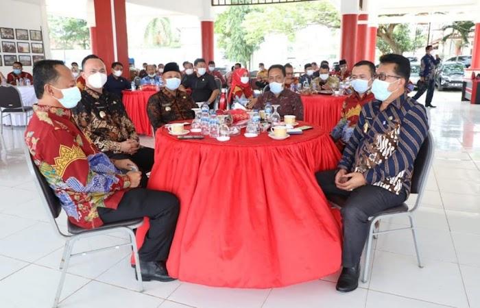Nanang-Pandu Silaturahmi Bersama Pimpinan DPRD Lamsel