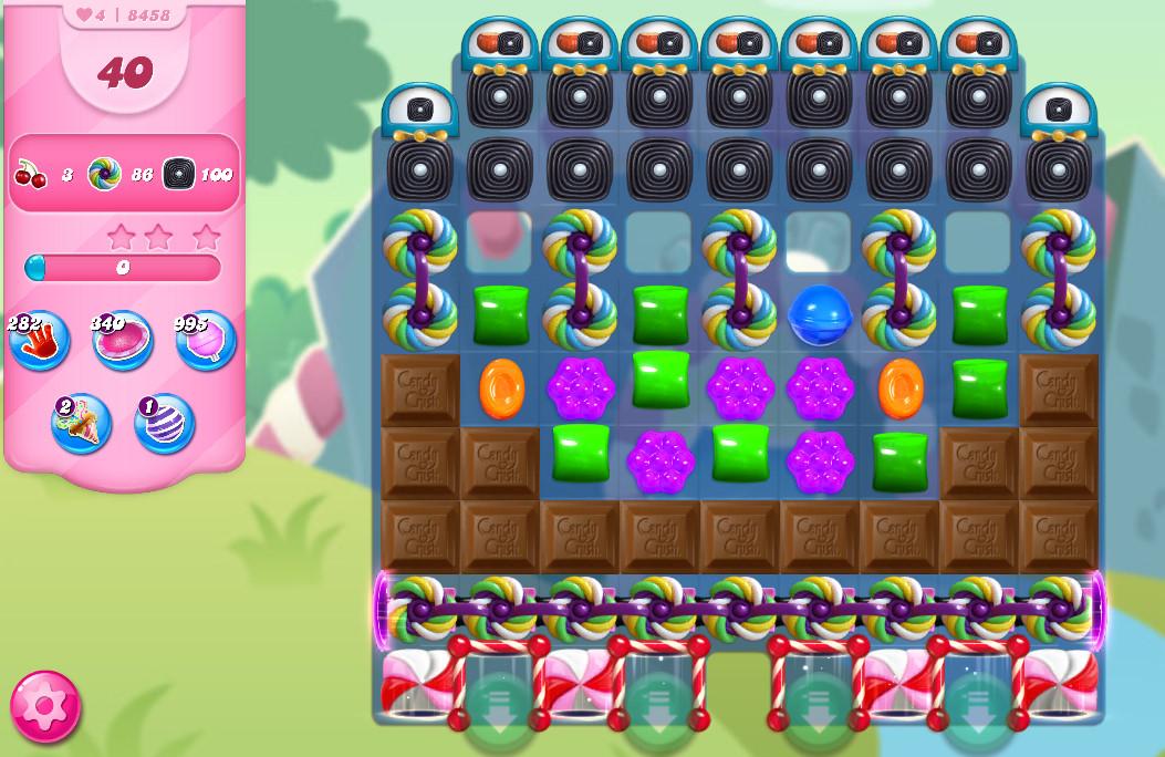Candy Crush Saga level 8458