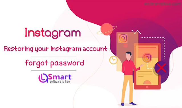 Recover Instagram account, I forgot my password