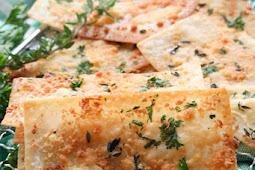 Parmesan Herb Wonton Crisps