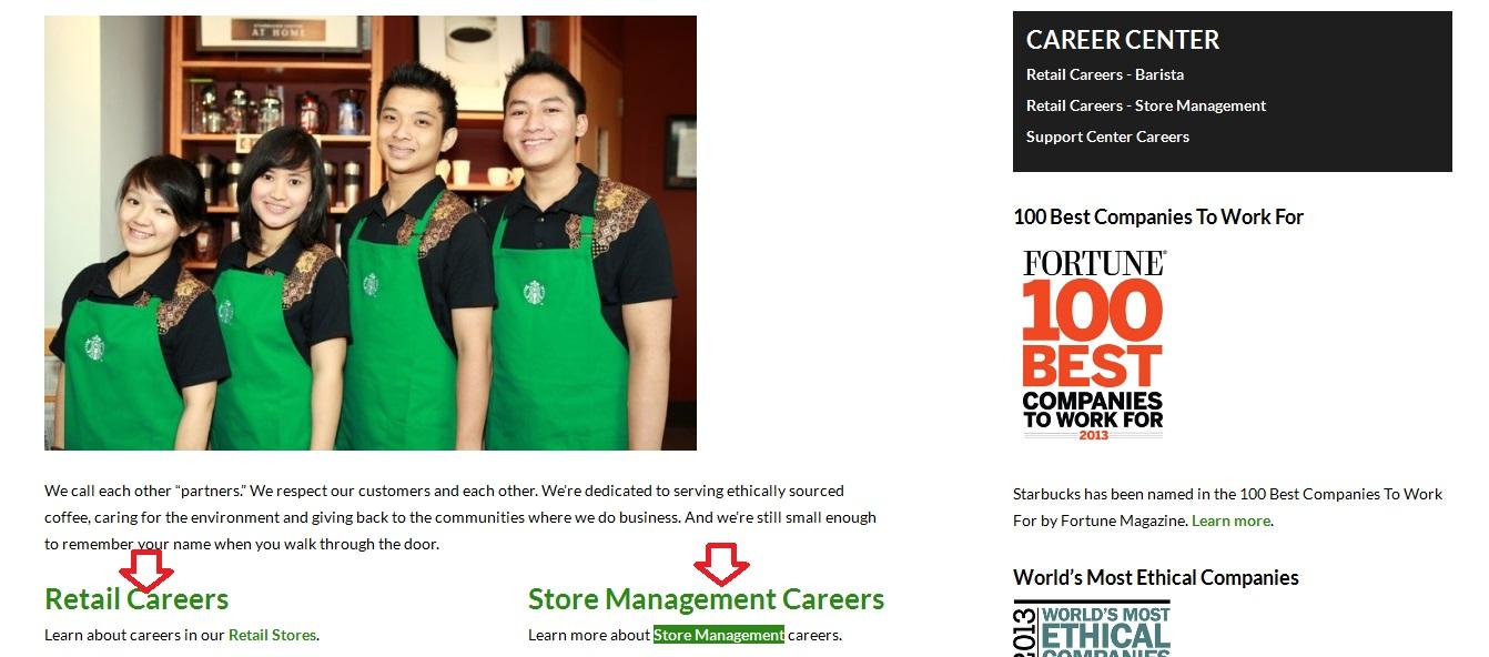 Cara Melamar Kerja di Starbucks Indonesia Secara Online