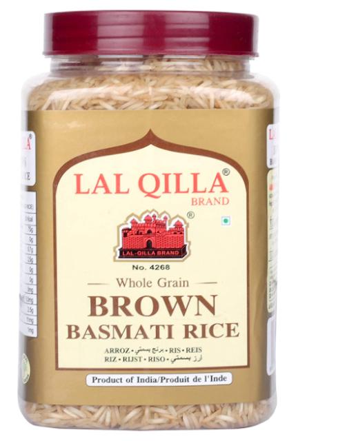 Lal Qilla Brown Basmati Rice Pet Jar 1 KG