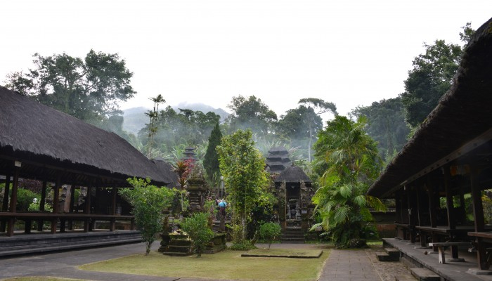 Rumah Tradisional di Jatiluwih Tabanan Bali