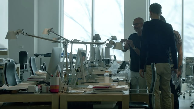 Apple Artemide Tolomeo iMac Design Jonny Ive