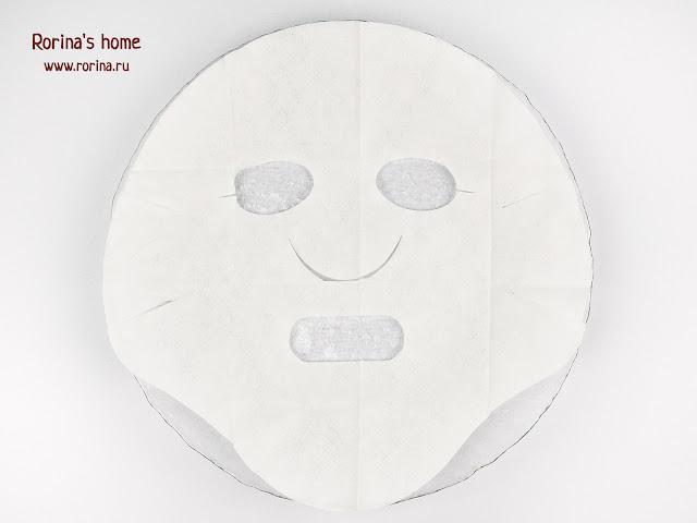 Необычное лекало тканевой маски. Фото