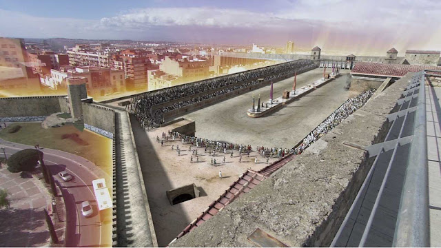 reconstrucción Circo Romano