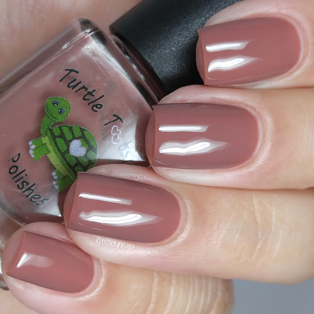 Turtle Tootsie Polishes - Brown Ranger