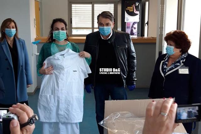 Ο Alpha παρουσίασε την δωρεά του Δημάρχου Άργους Μυκηνών στο Γενικό Νοσοκομείο Άργους (βίντεο)