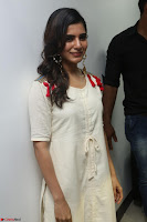 Samantha Ruth Prabhu Smiling Beauty in White Dress Launches VCare Clinic 15 June 2017 016.JPG
