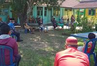 Perpisahan Purna Bhakti Kepala SDN 03 Kobi Dirangkaikan dengan Do'a Tolak Bala Covid19