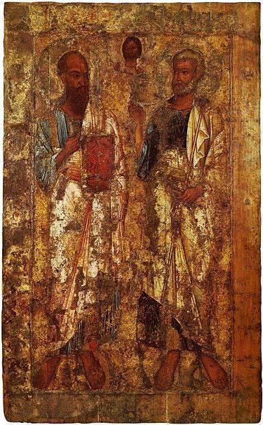 Святые первоверховные апостолы Петръ и Павелъ