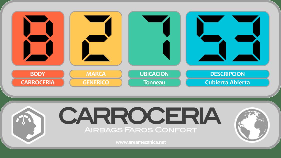 CODIGOS DE FALLA (B2700-B27FF) Carrocería | OBD2 | DTC