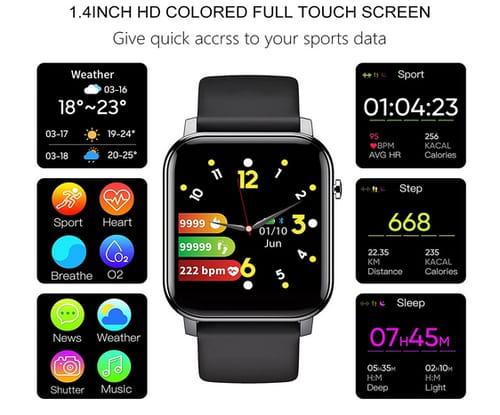 Esprosper IP68 Waterproof 5ATM Smart Watch