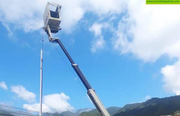 Santa Cruz de La Palma invertirá 145.900 euros en renovar el alumbrado público con tecnología LED